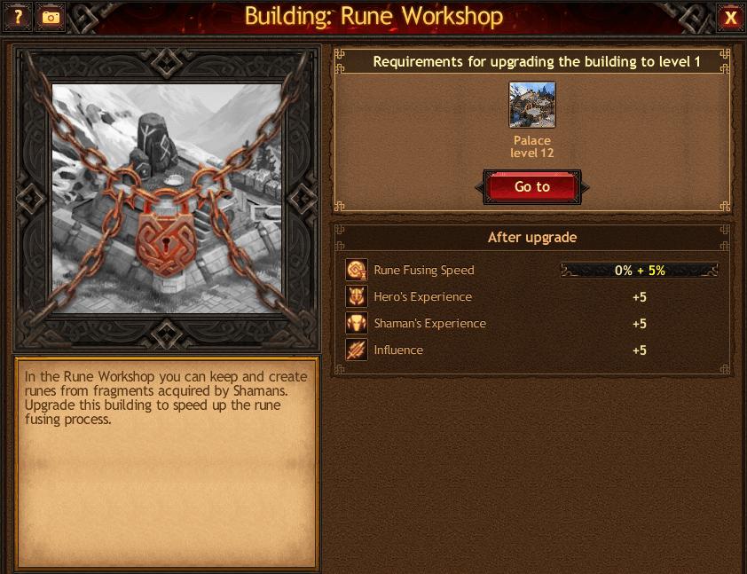 Rune Workshop Shaman