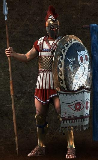 Offensive units sparta