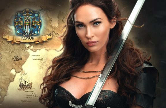 Megan Fox Joins Plarium Hit Mobile Game 'Stormfall: Rise Of Balur'