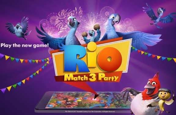 "Plarium and Fox Interactive launch ""Rio: Match-3 Party"" for mobile"