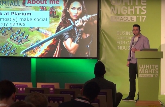 Plarium's Guy Ulmer Presents At White Nights Prague 2017