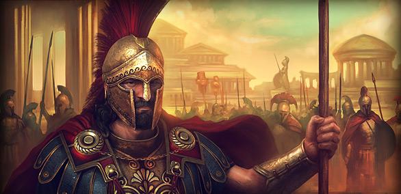 Онлайн игра Спартанцы играть бесплатно