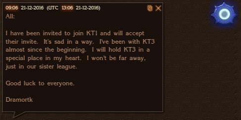 Dramortk Leaves KT3
