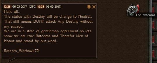 Ratcoms Destiny Cease