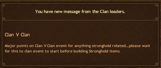 Clan vs Clan Point Strategy