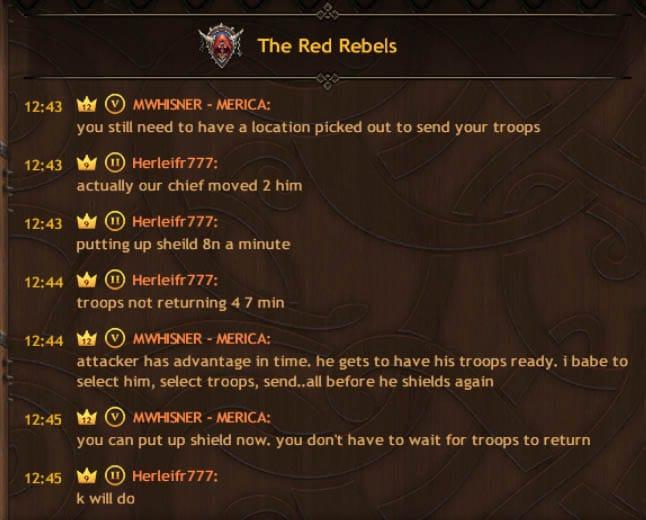 Rebels Plan Attacks