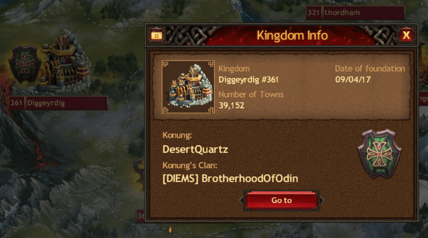 Latest Kingdom Diggeyrdig