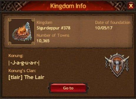 New Kingdom Sigurdeppur