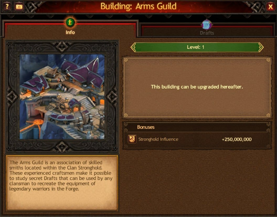 Arms Guild info