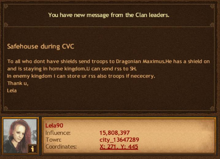 Clan vs Clan Strategy