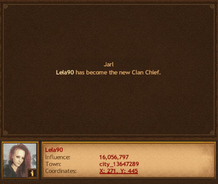 Lela90 Becomes Chief