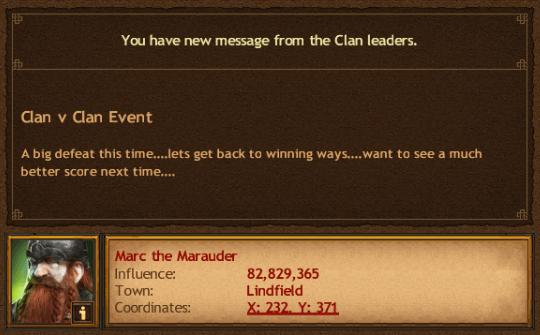 Valhalla Damned Clan v Clan Lose
