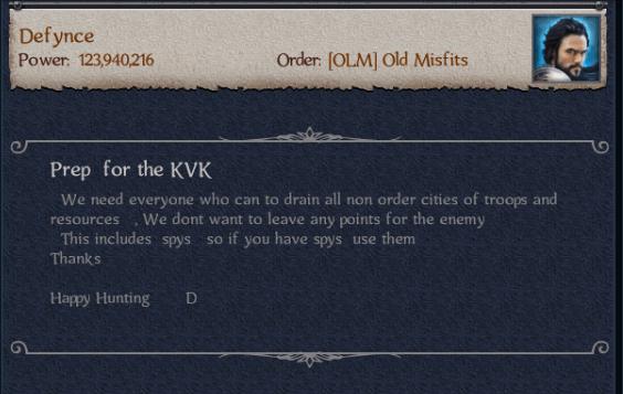 Craustland Prepares For KvK