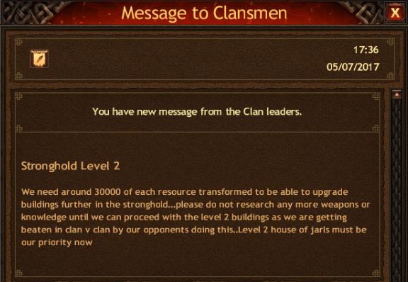 Clan v Clan Tactics