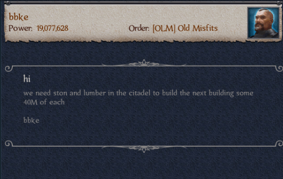 Clans Build Citadels