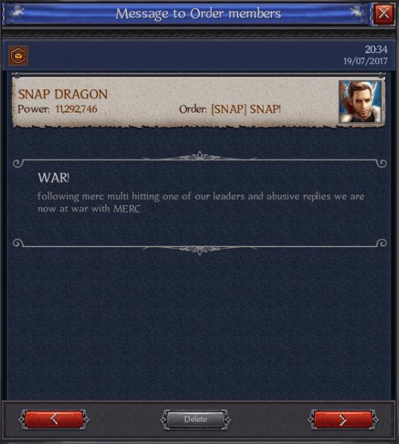 War Mercs Snap
