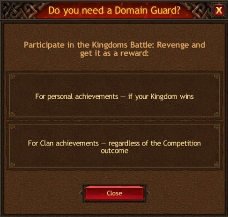 Domain Guard Wins