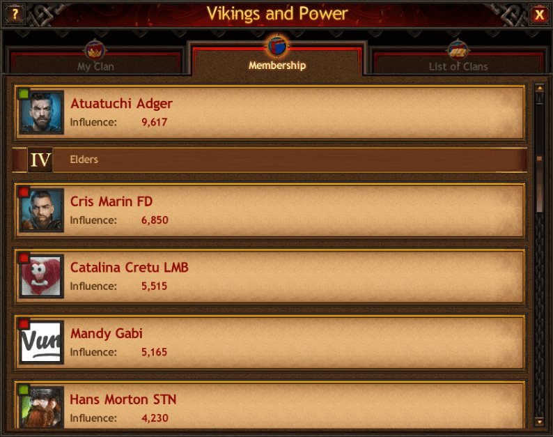 Vikings And Power Clan