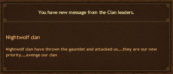 Clans Go to War
