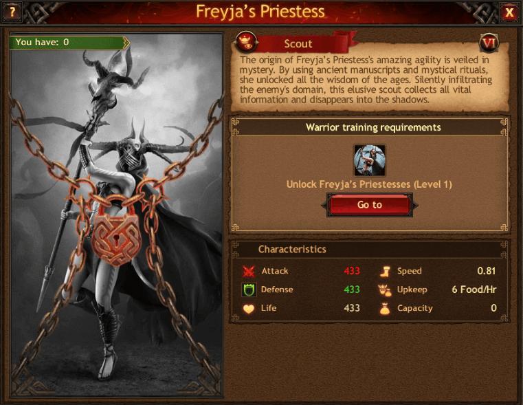 Freyjas Priestess