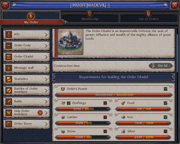 Mad Evil Working On Citadel