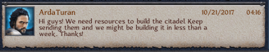 Mad Evil Pushes To Build Stronghold