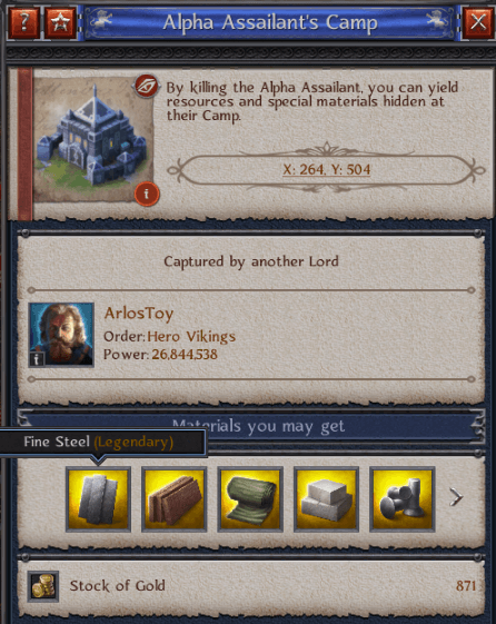 Alpha assailants camp