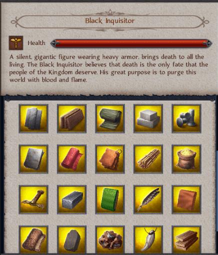Black Inquisitor Riches