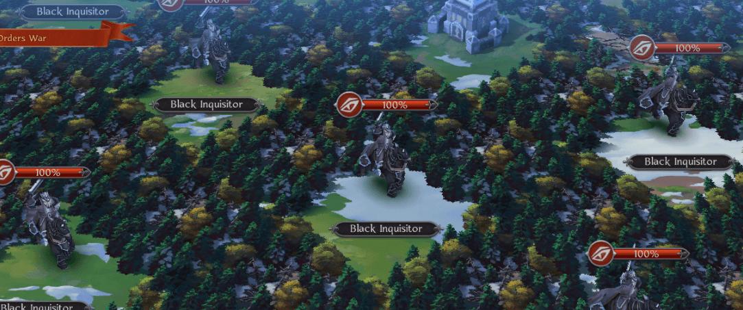 Black Inquisitors invade