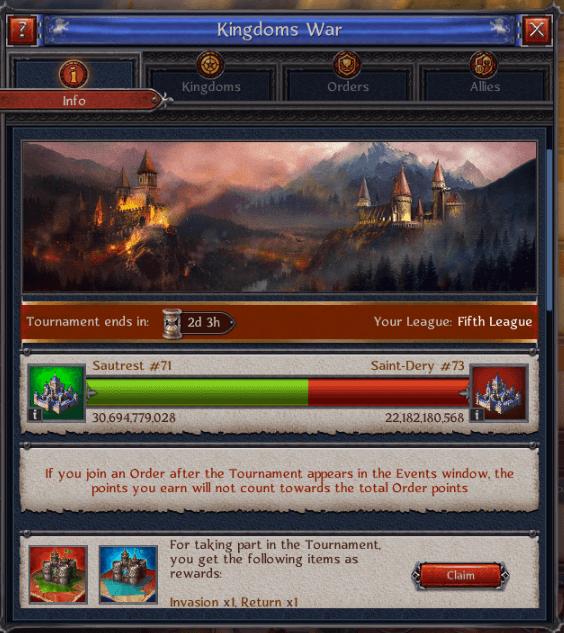 Sautrest Kingdoms War