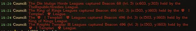 Beacon Mass Picks Up