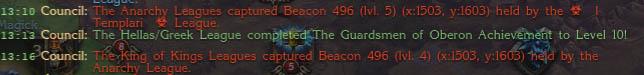 Beacon Mass Slow Start