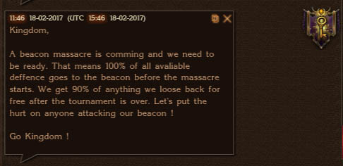 Beacon Massacre Coming