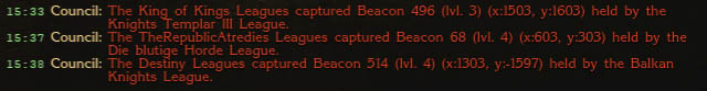 Beacon mass Continues