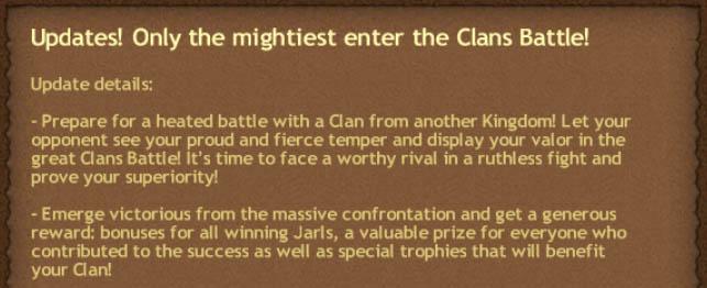 Clan Battles Annoucement