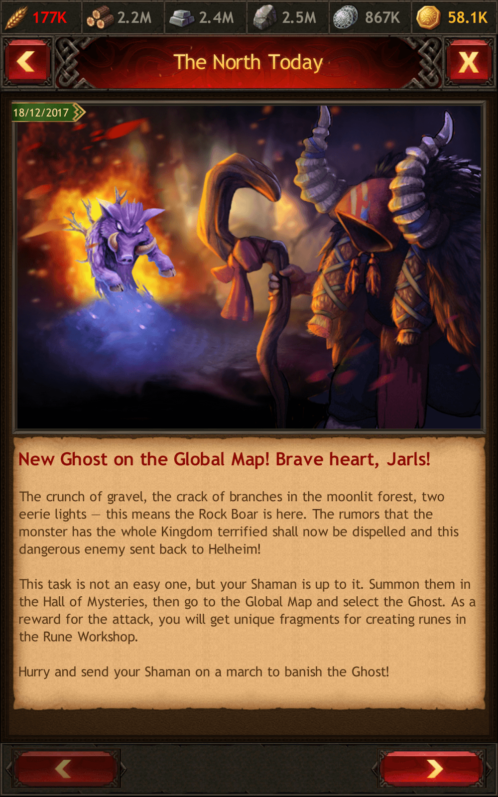 New Ghost Rock Boar