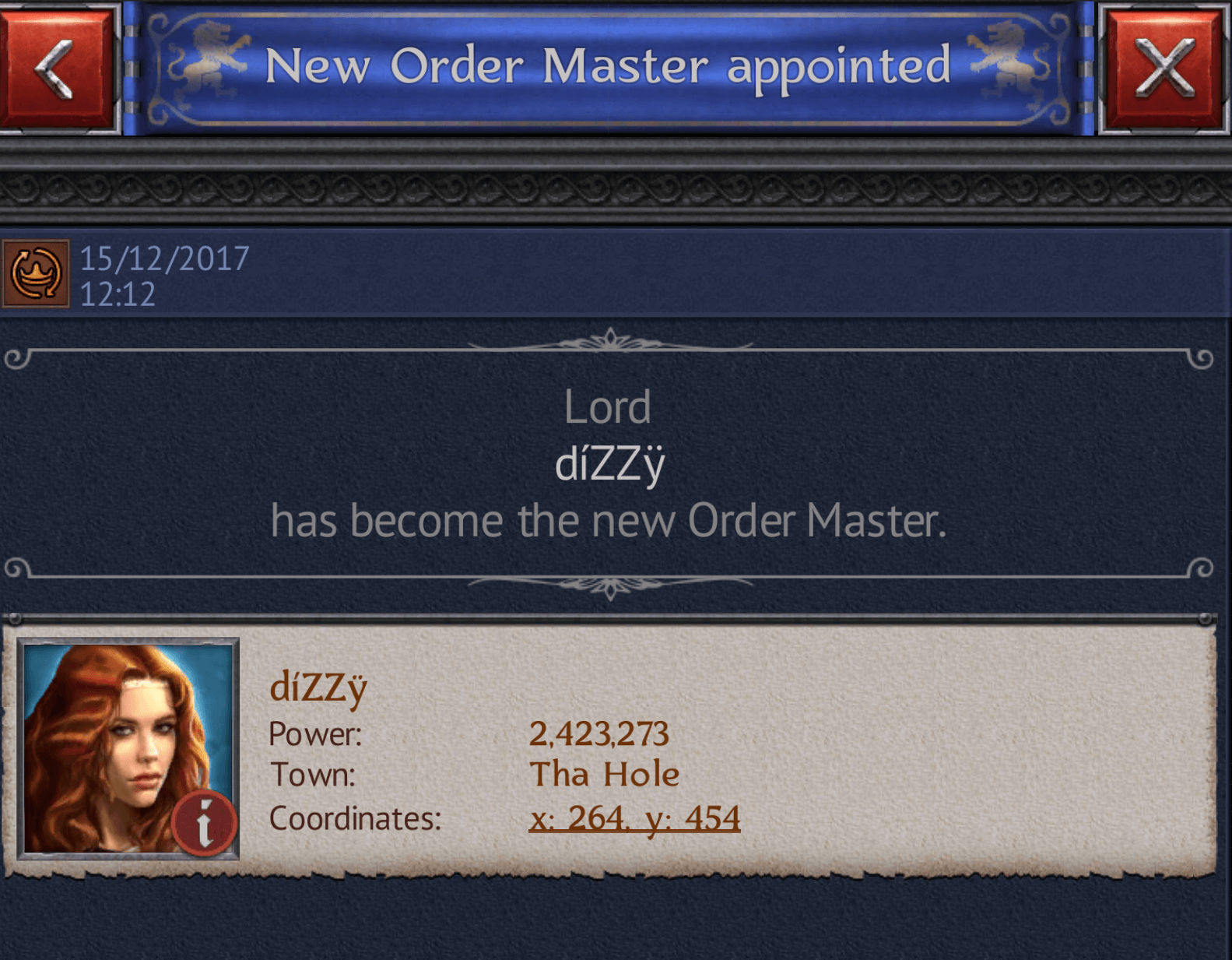 New Order Master