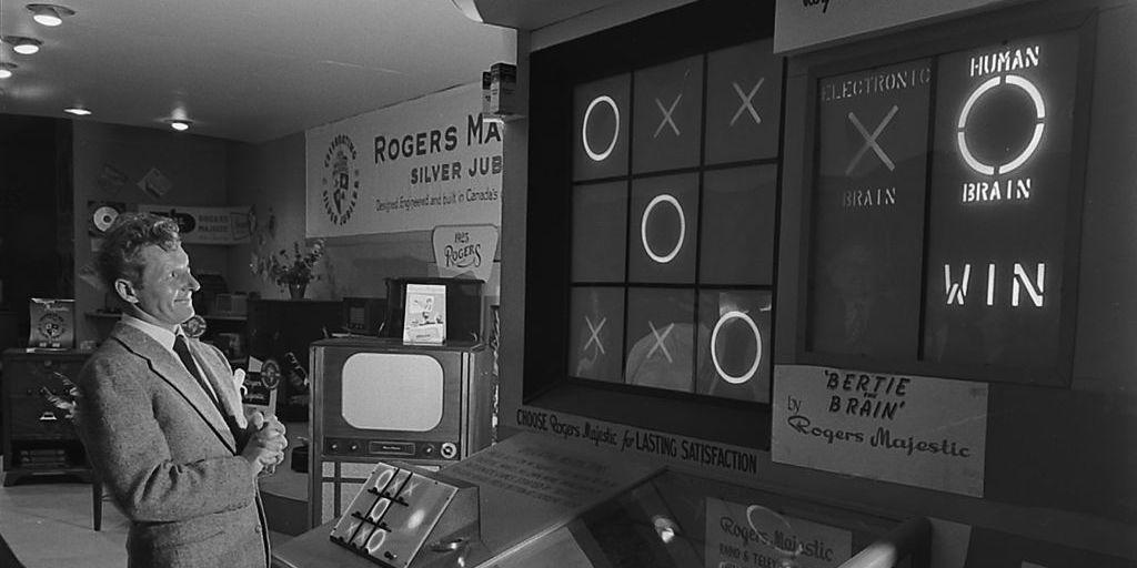 Bertie el cerebro: casi el primer videojuego