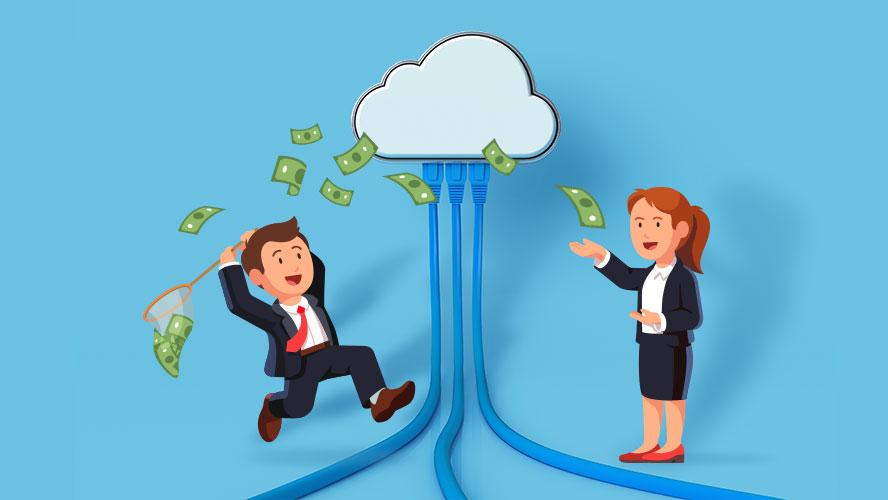 ехнологические компании инвестируют в облачные игры