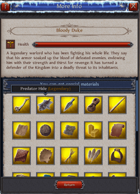Legendary Crafting Materials