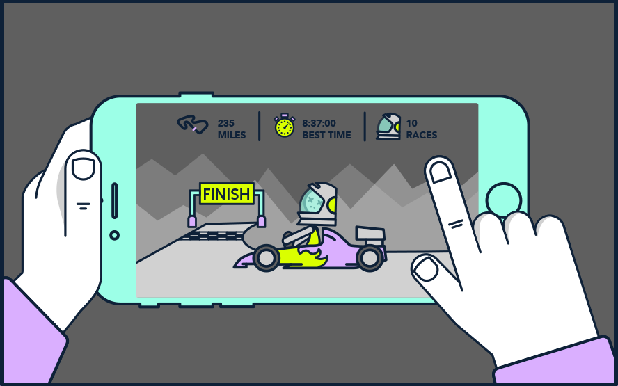 Mobile racing
