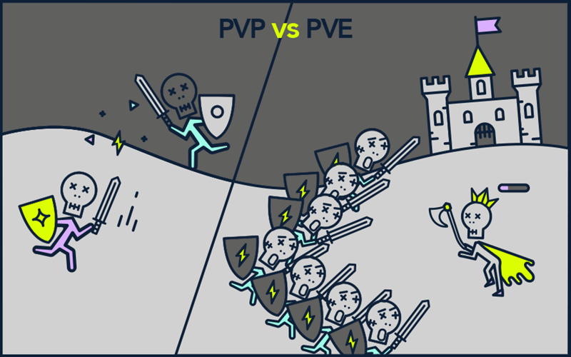 PVP vs PVE