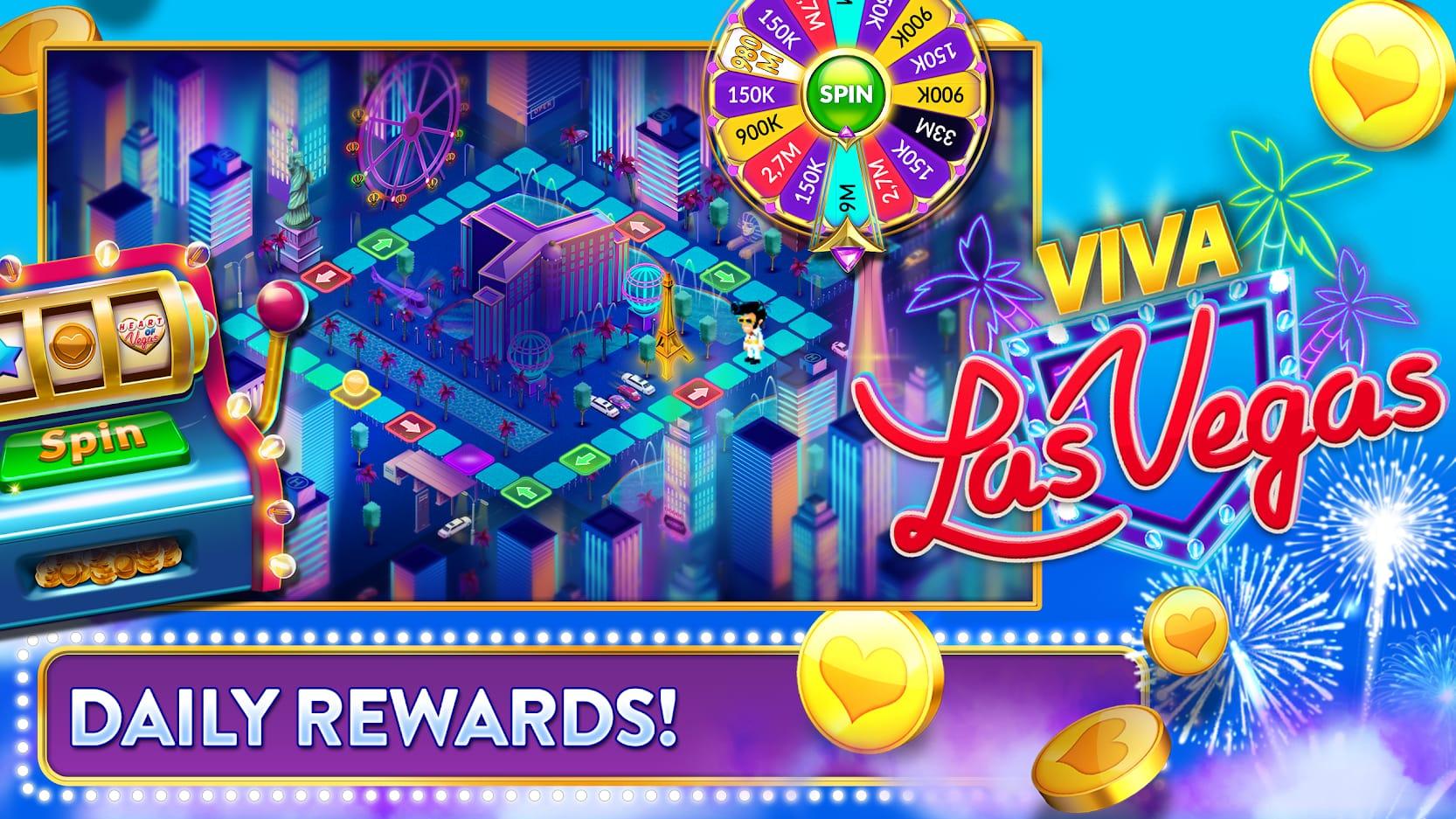 Heart of vegas games facebook