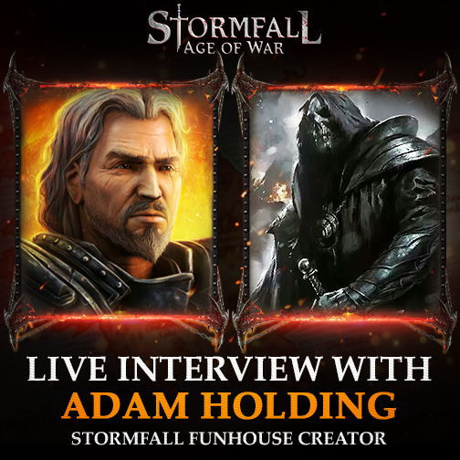 Interview - Adam Holding