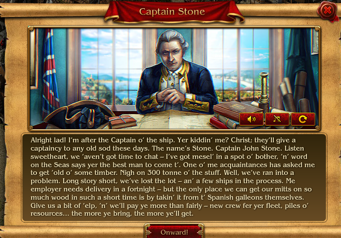 Captain Stone von Pirates: Tides of Fortune