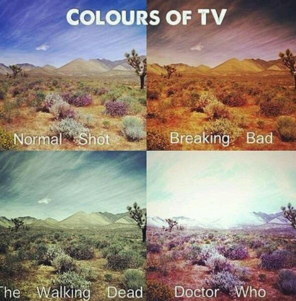 Colors from popular TV-Shows