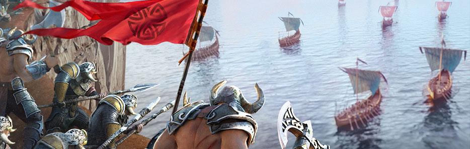 крупное вторжение викингов