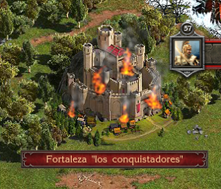 New Fortresses Burn Los Conquistadores