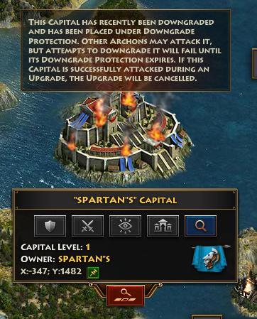 Capitals Burn