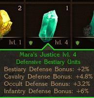Mara's Justice Crystal
